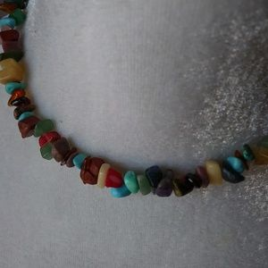 Jewelry - Tourquoise & Multi Stone Necklace
